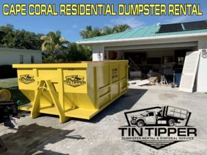 Cape Coral Residential Dumpster