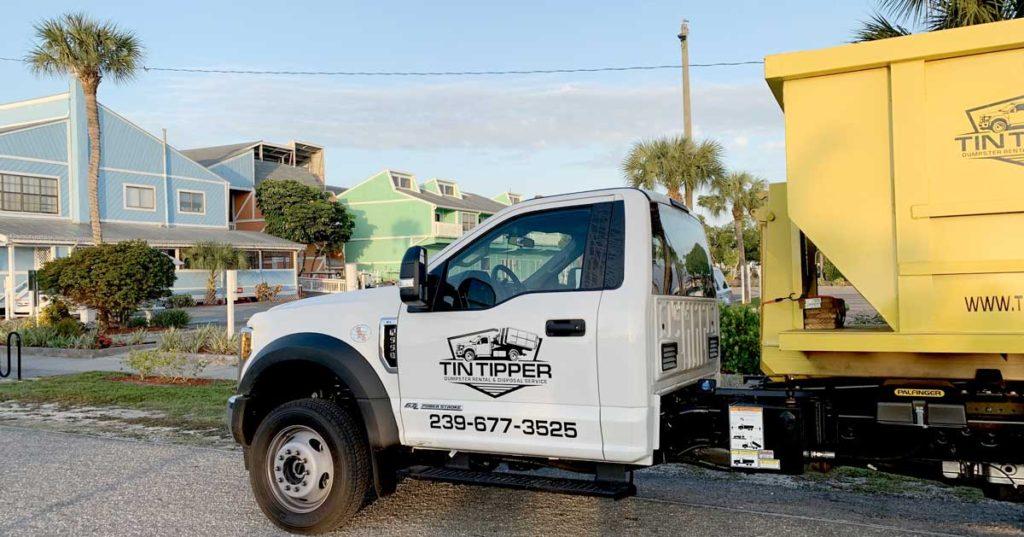rent a dumpster in punta gorda florida