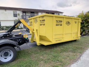 fort myers dumpster debris container