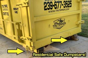 Cape Coral Residential Safe Dumpster