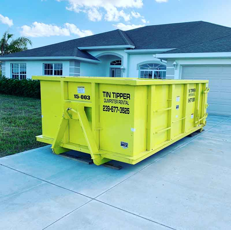 15 cubic yard dumpster rental in cape coral