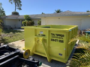 Tin Tipper : Dumpster Rental 1618 SW 6th Ave, Cape Coral, FL 33991 (239) 677-3525 Open 24 hours  https://www.google.com/maps/d/u/0/viewer?mid=1G3IjkRAbDEnmiVwh3H7NeS_xp6bsbVR4