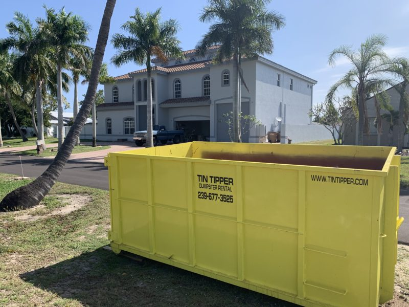 rent a dumpster container cape coral