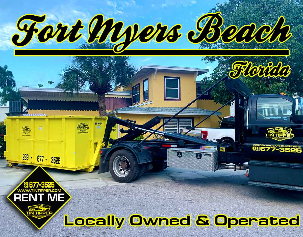 renting-a-dumpster-on-fort-myers-beach-florida