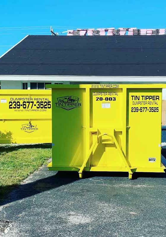 Dumpster rental port charlotte